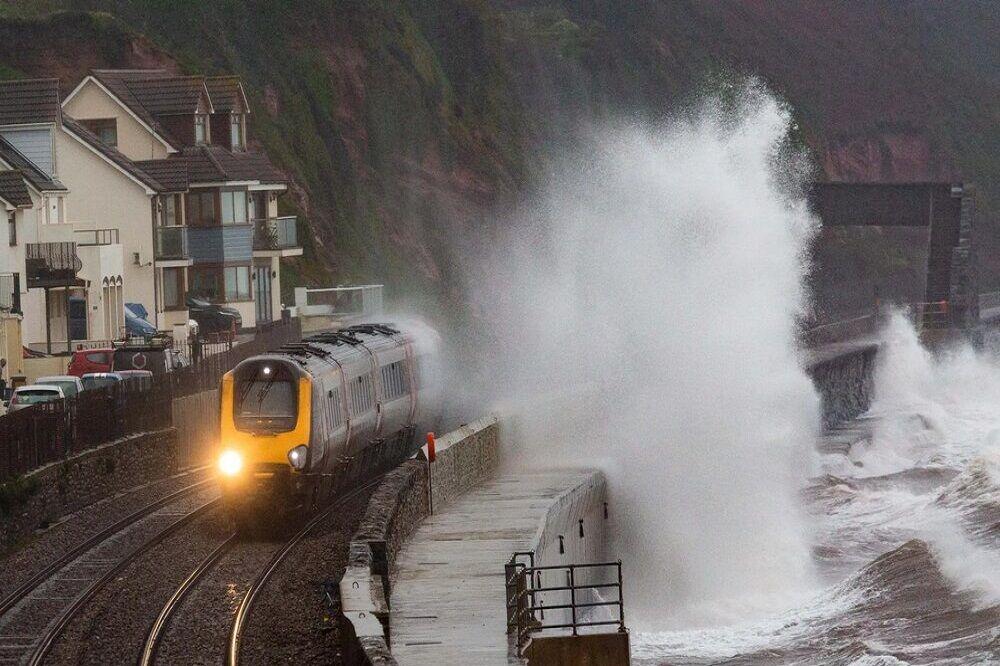 طوفان و سیل در شمال انگلیس