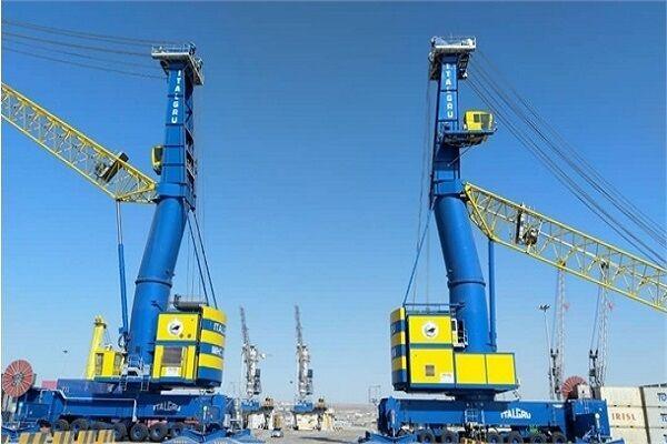 ورود دومین کشتی حامل تجهیزات استراتژیک هندی به بندر شهید بهشتی چابهار