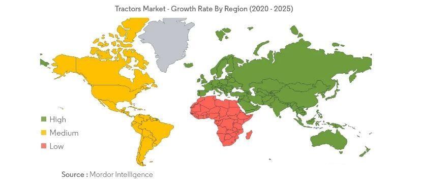 هند و چین؛ بازیگران اصلی بازار تراکتورهای کشاورزی| جایگاه ۷۳ ایران در بین صادرکنندگان