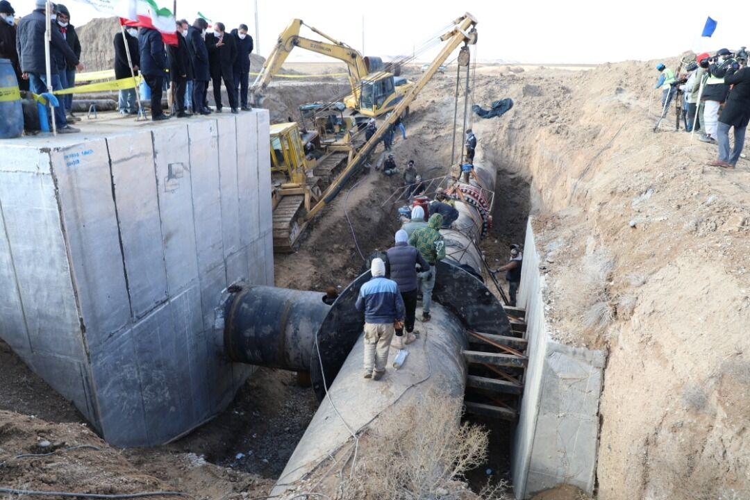 بهره برداری از پروژه اجرای خط انتقال روستای «چشین» همدان تا پایان سال جاری