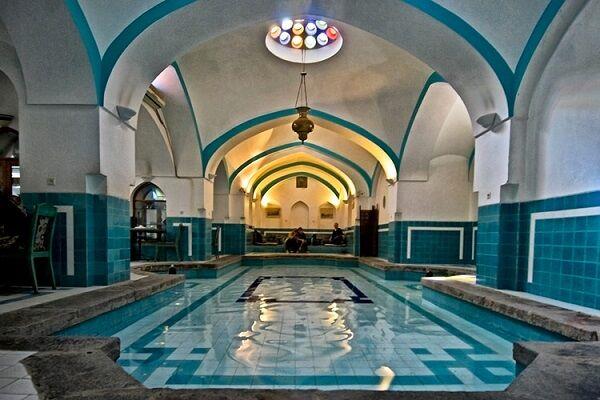 حمامهای تاریخی؛ ظرفیت توسعه گردشگری در همدان