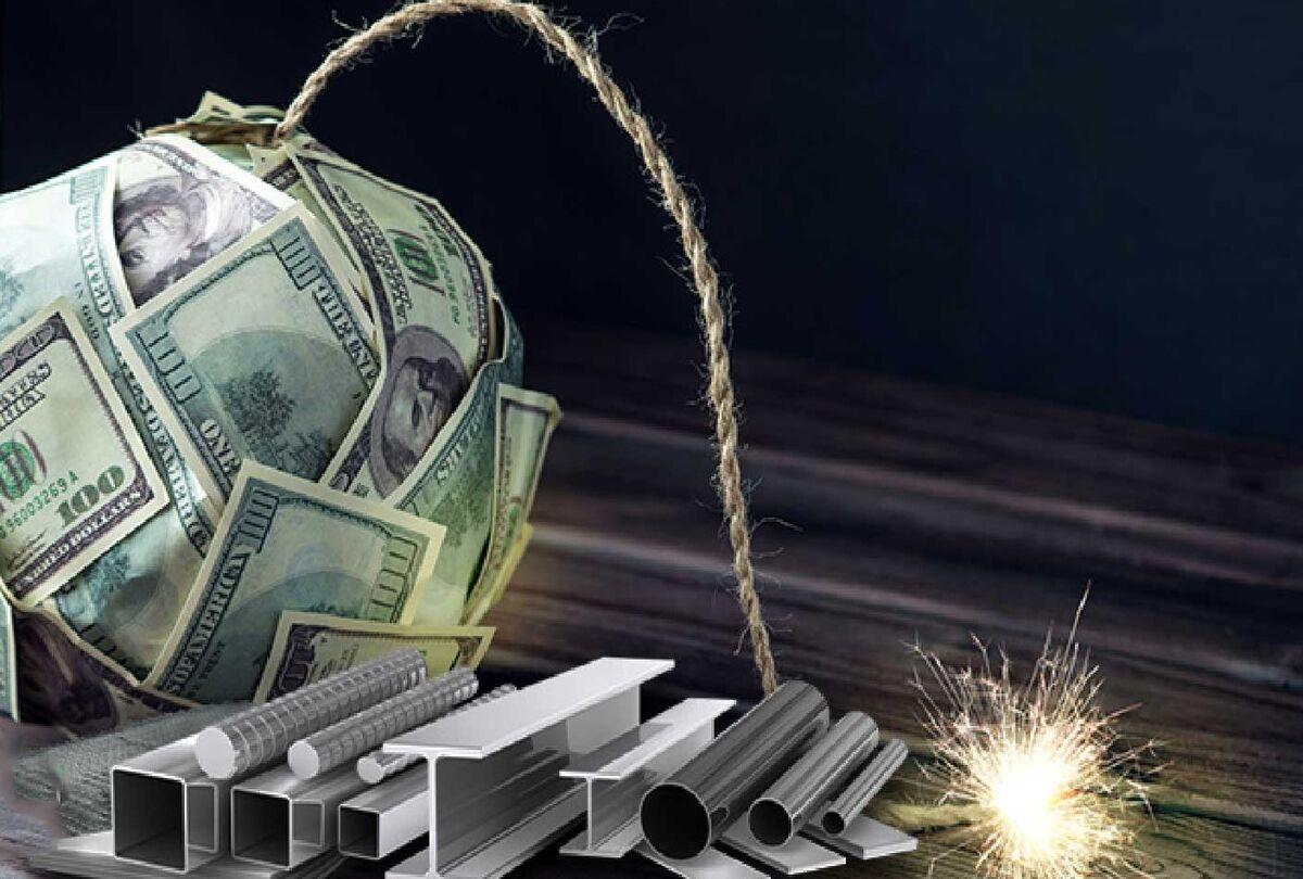 انفجار ارزی در بازار آهن