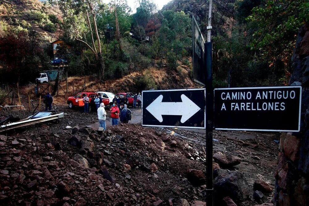 سیل ویرانگر در شیلی