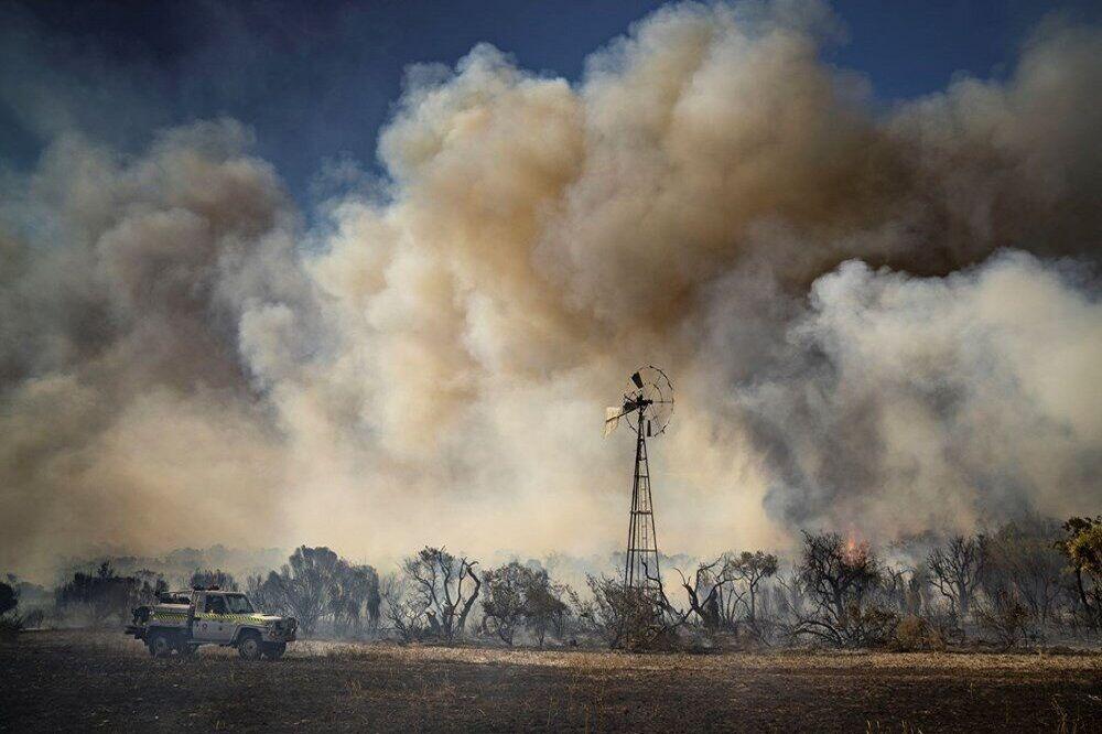 تخریب دهها خانه در پی آتشسوزی جنگل در استرالیا