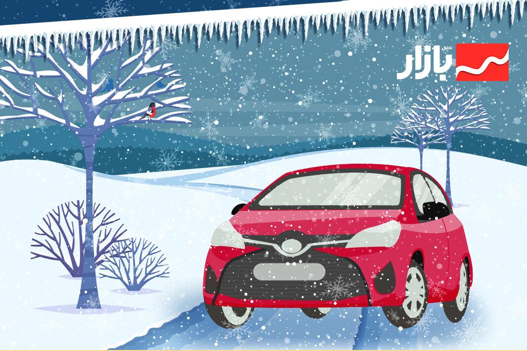 نکات رانندگی در هوای برفی