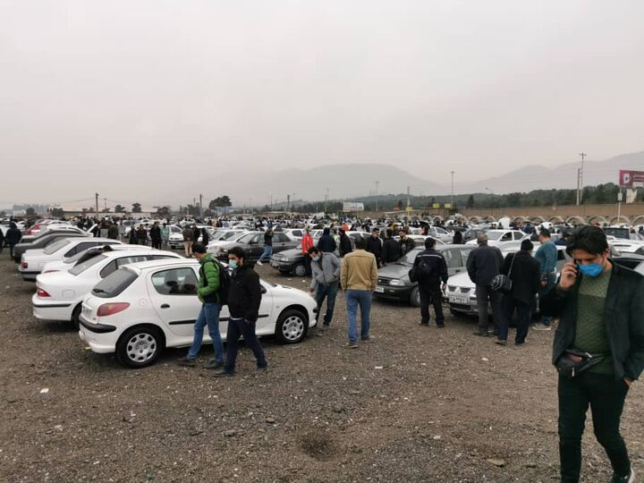بازار خودروی تبریز در روزهای قرمز کرونایی