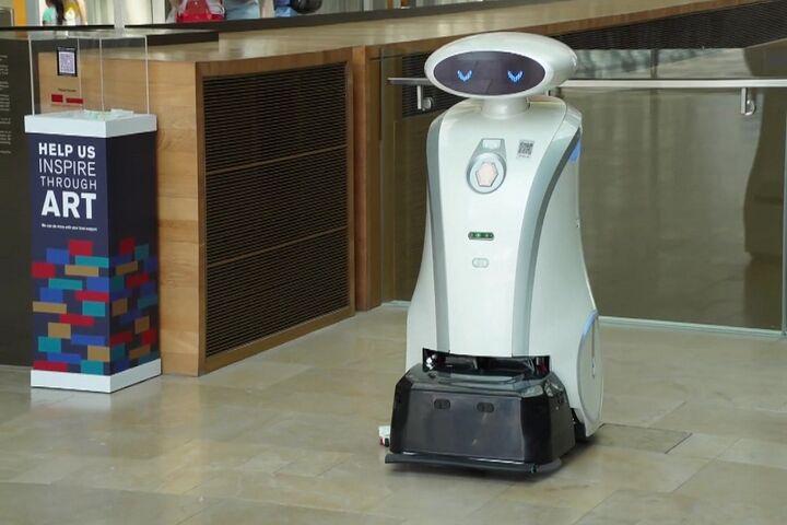 ربات لطیفهگو 8