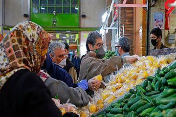 قیمت میوه و تره بار در ۱۹ فروردین ۱۴۰۰