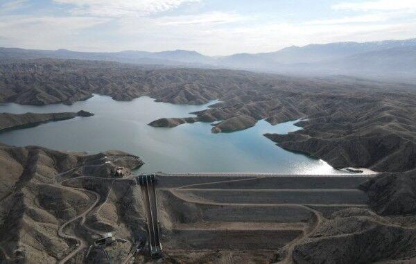 بهرهبرداری از پروژه آبگیر موقت سطحی سد «شیرین دره» خراسان شمالی