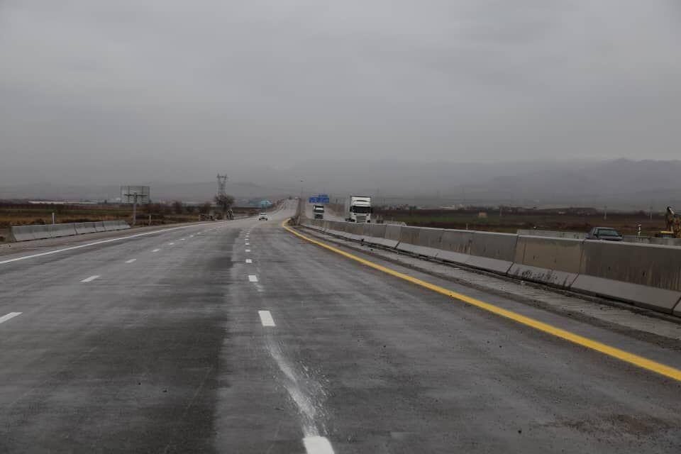 افتتاح آزادراه آبیک به چرمشهر سوانح مسیر را تا ۴۰ درصد کاهش میدهد