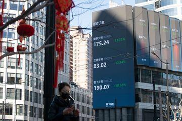 سیر نزولی بازارهای بورس آسیا