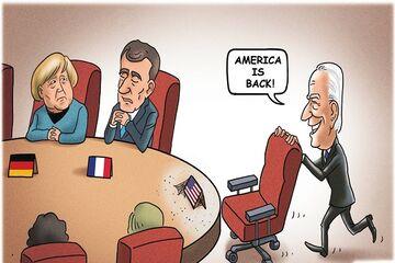 آمریکا قادر به مهار توسعه اقتصادی چین نیست اروپا با سیاست بایدن همراهی نخواهد کرد