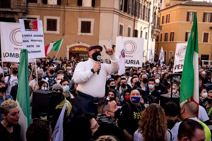 اعتراض در ایتالیا 1