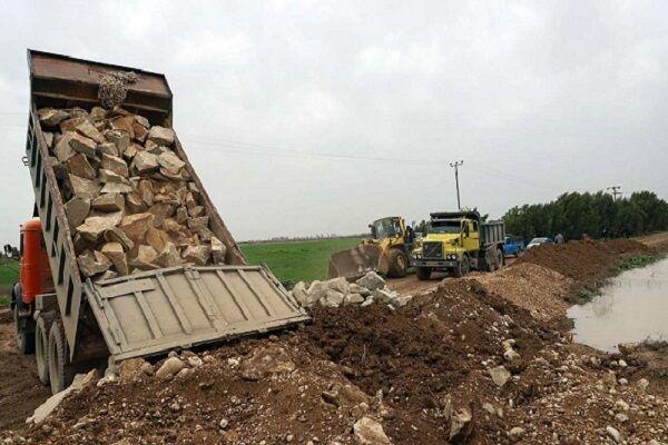 ۱۱۰ کیلومتر پروژه پیشگیری از سیل در لرستان اجرا شد