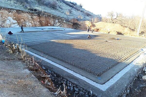 پیشرفت فیزیکی ۴۰ درصدی مخزن آب شهر «گیان» در نهاوند