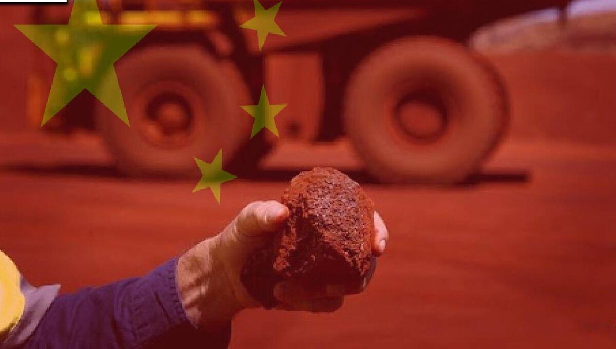 طمع چین در انباشت سنگ آهن
