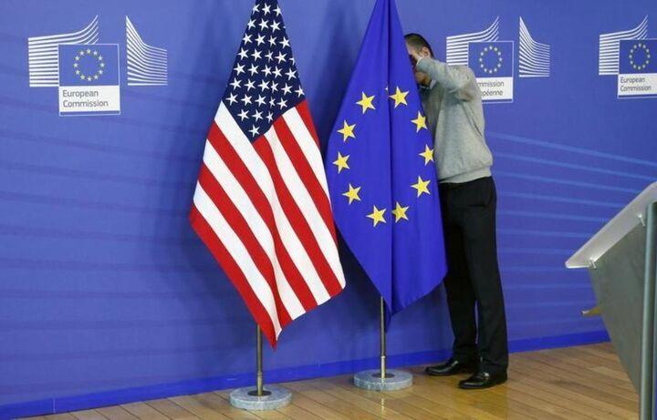 توافق آمریکا و اتحادیه اروپا برای تعلیق تعرفهها