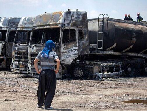پشت پرده آتش سوزیها در گذرگاههای مرزی ایران و افغانستان؛ خرابکاری علیه تجارت مرزی