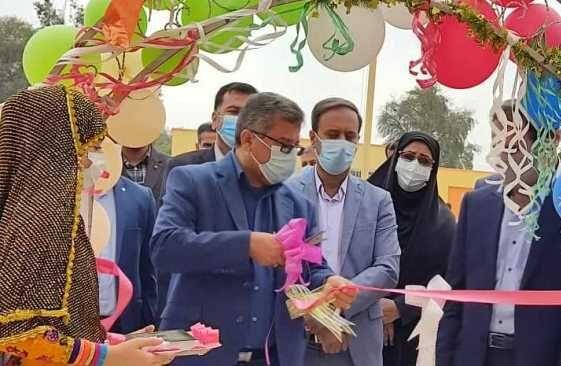 ۲ مدرسه توسط بنیاد برکت در هرمزگان افتتاح شد