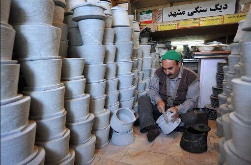 «برند سازی» شیوهای برای تبدیل سنگ به ارز؛ صادرات ظروف سنگی مغفول مانده است