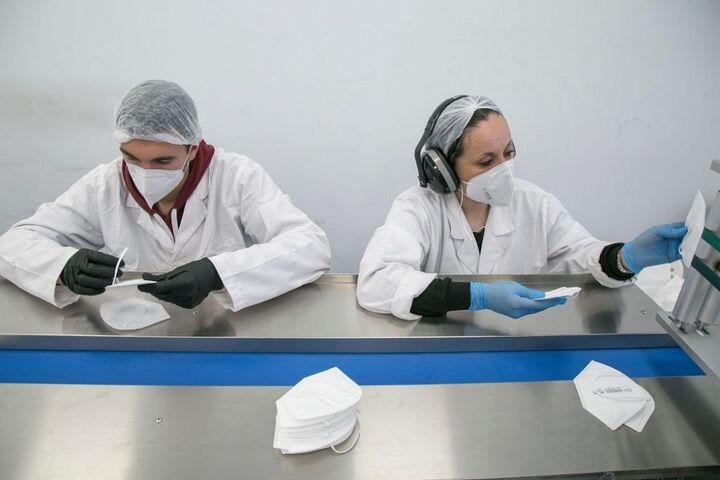 کارخانه تولید ماسک 12