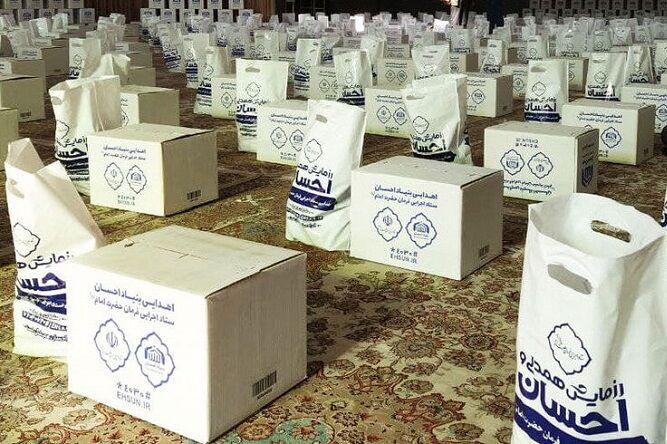 بنیاد احسان ۶۲ هزار بسته غذایی در استان بوشهر توزیع کرد