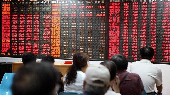سیر نوسانی ارزش سهام در بازارهای بورس آسیا