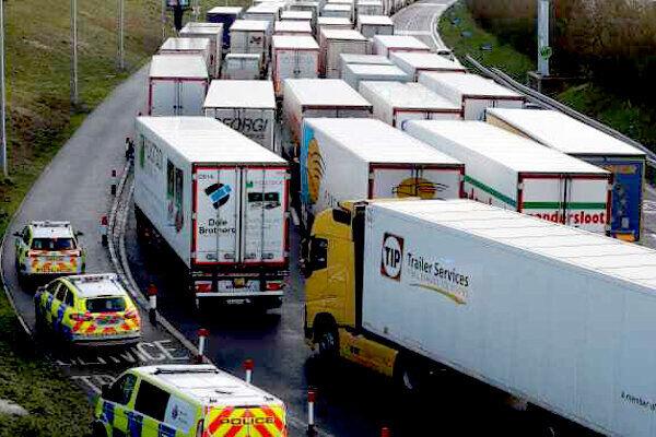 کاهش صادرات کالا و خدمات از انگلیس به اتحادیه اروپا