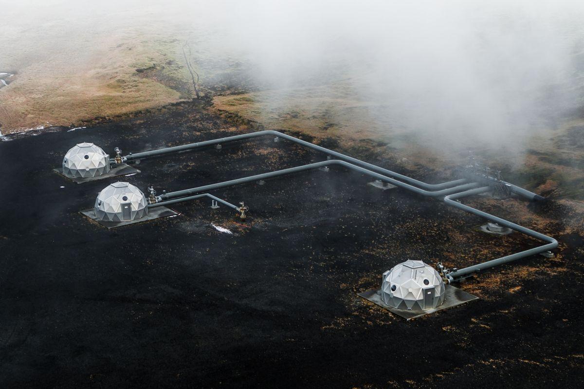 پایگاه تبدیل «دی اکسید کربن » به « سنگ بازالت » شروع به کار کرد