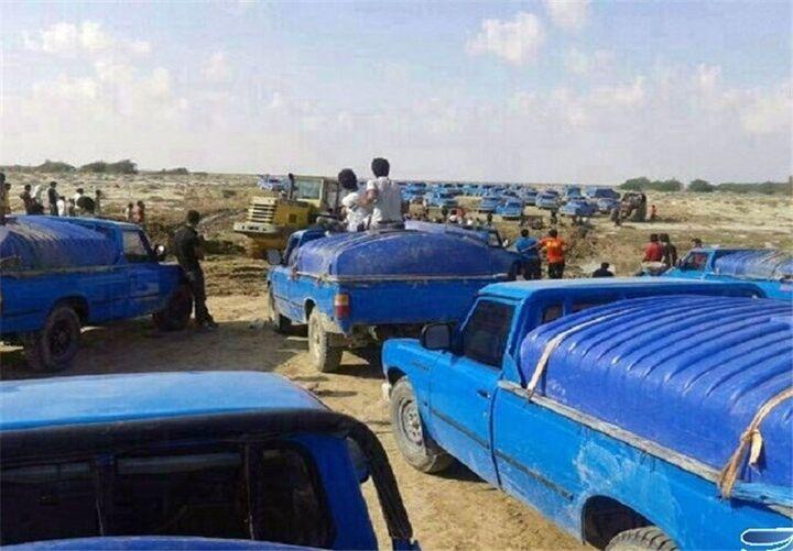 کشف باند قاچاق سوخت در شرق کرمان