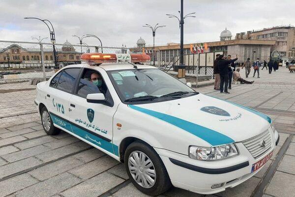 استقرار شعبه سیار تعزیرات حکومتی در میدان مرکزی همدان