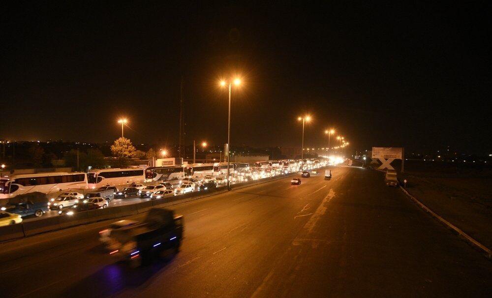 نصب روشنایی در ۱۲۰ کیلومتر از محورهای مواصلاتی استان همدان