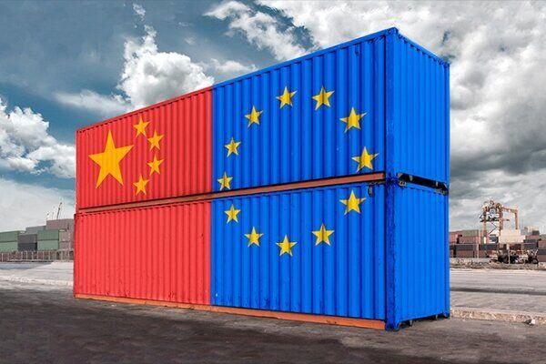 چین بزرگترین شریک تجاری اتحادیه اروپا