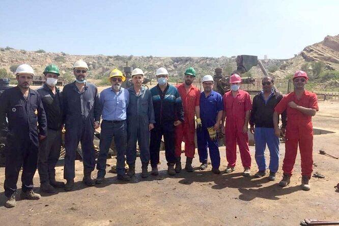 عملیات ابتکاری باعث صرفهجویی در چاههای نفت منطقه خارگ شد