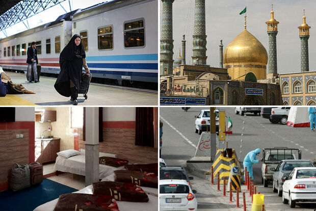 حضور ۱۸۵۰ مسافر در قم/ خسارت کرونا به گردشگری دومین شهر زیارتی ایران
