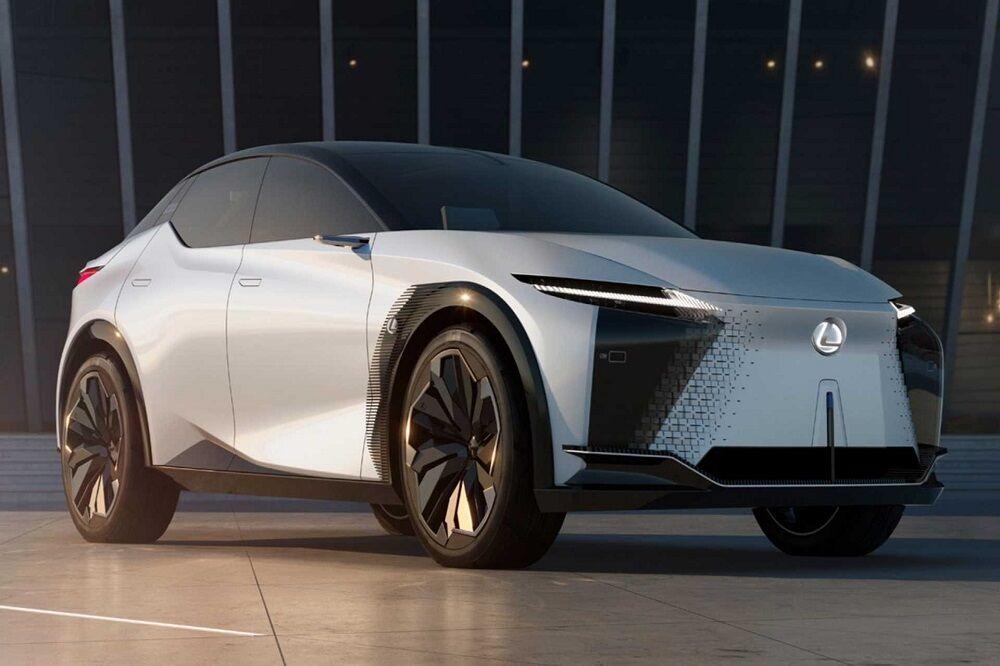 طراحی اولیه خودرو برقی لکسوس