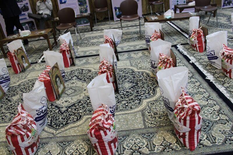 توزیع هزاران بسته معیشتی در رزمایش احسان یزد