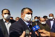 افتتاح پروژه نگهداری از راههای شهرستان مهریز