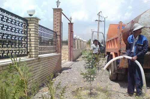افزایش عطش در باغ ویلاها | آب شرب سرقت میشود