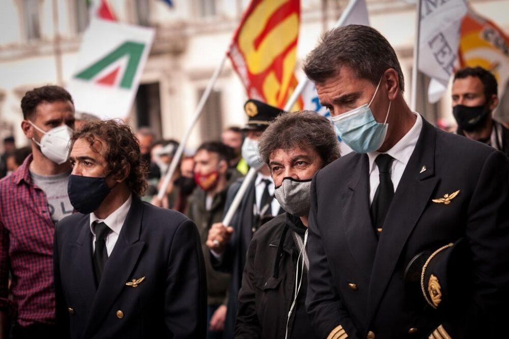 اعتراض کارگران و کارمندان خطوط هوایی ایتالیا