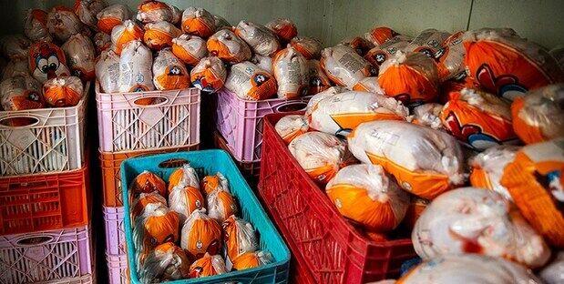 قیمت انواع مرغ در ۲۴ شهریور ۱۴۰۰