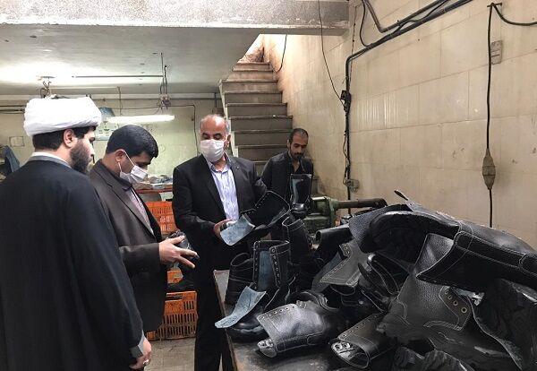 کارخانه تولید کفش ایمنی و کوه نوردی و نظامی با مشارکت بنیاد برکت در تبریز افتتاح شد