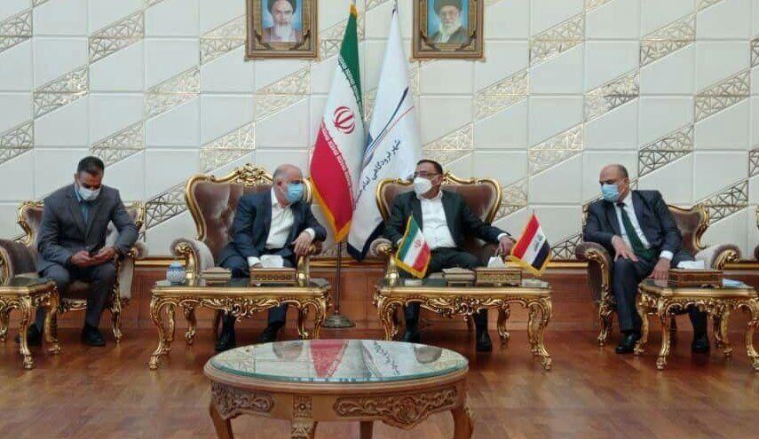 وزیر برق عراق وارد تهران شد