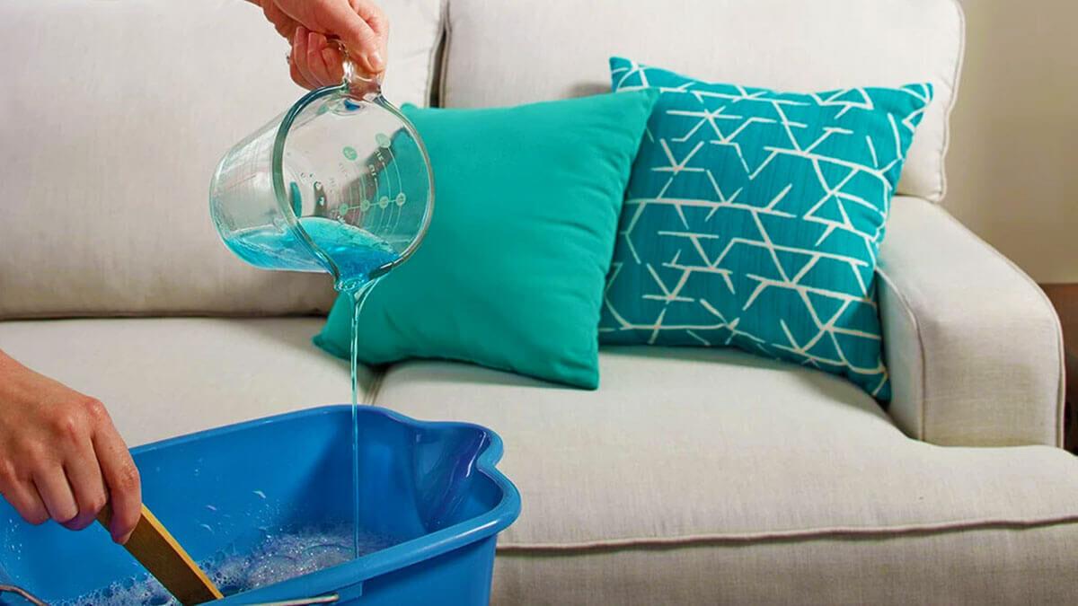 بهترین روش ها برای شستشوی مبل و نظافت مبل ها