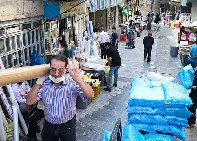 بازگشت جریان اقتصادی به بازار تهران  آغاز فعالیت ۷۰ درصد واحدهای صنفی از صبح امروز