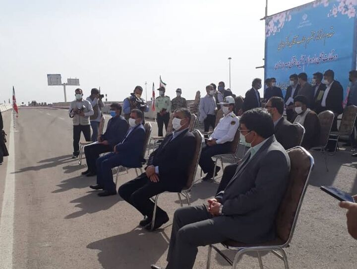 افتتاح کنارگذر «زارچ- اشکذر» پس از ۱۴ سال