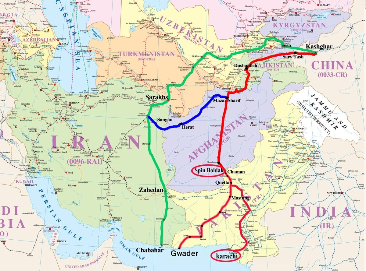 فرصت ترانزیتی آسیای میانه برای ایران| اهمیت بنادر ایران برای تجارت مرکز آسیا