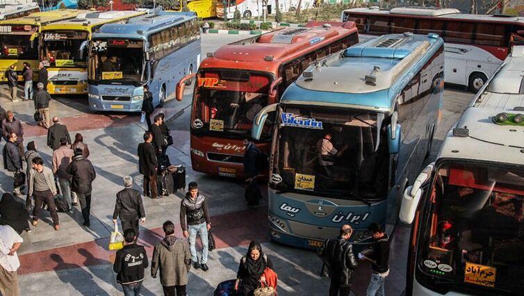 خدمت رسانی ۸۵ هزارخودرو حمل و نقل عمومی بین شهری در عید فطر
