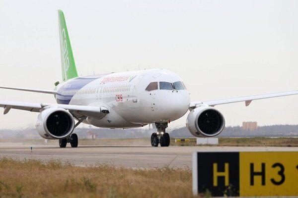 ورود رقیب چینی به بازار هوانوردی