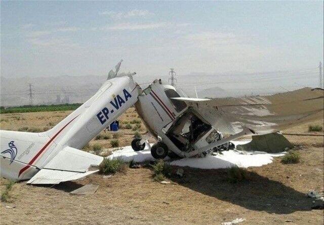حادثه سقوط هواپیمای ۲ نفره در تهران مورد تأیید نیست
